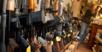 Assault weapons on display at The Freedom Shoppe in New Milford, CT. (Photo: Wendy Carlson, The New York Times)